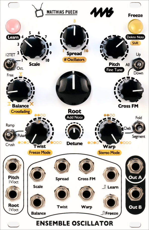 ensemble oscillator 4MS